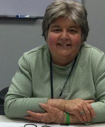 Board of directors treasurer Cheryl Green