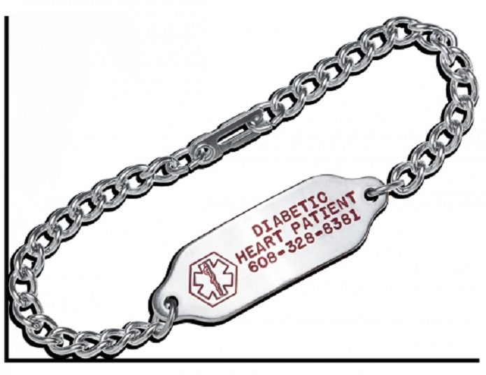 Medical ID bracelets can save your life in an emergency